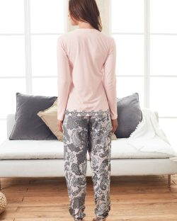Doreanse Bayan Pijama Takımı 4088 arka