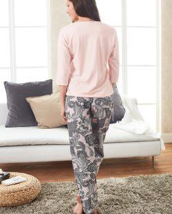Doreanse Bayan Pijama Takımı 4098 arka