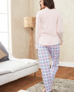 Doreanse Bayan Pijama Takımı 4128 arka