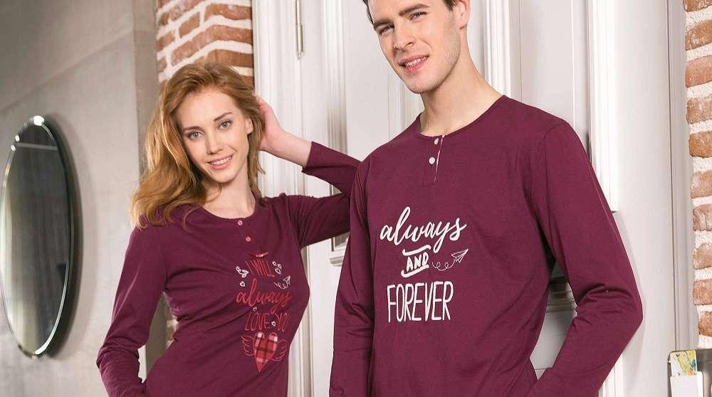 Ev Giyiminde Eşlerin Sevgili Pijama Takımları Takıntısı