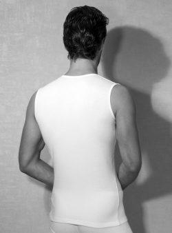 Doreanse Sıfır Kol Erkek T-shirt 2235 arka