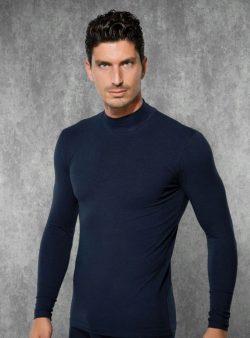Doreanse, Uzun Kollu Boğazlı Slim Fit Erkek T-shirt 2930