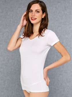 Doreanse V Yaka Bayan T-Shirt 9393