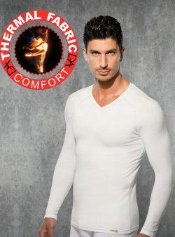 Doreanse V Yakalı Erkek Termal T-shirt 2985