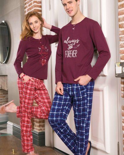 Yeni İnci Sevgili Pijama Takımı 1188-630