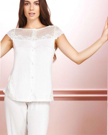 Bondy 6lı Çeyizlik Penye Gecelik ve Sabahlık Set 1020 pijama