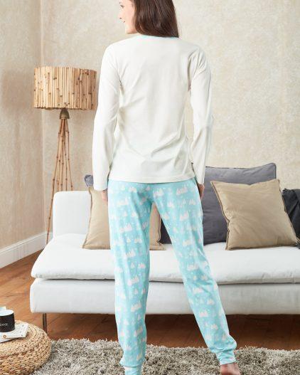 Doreanse Bayan Pijama Takımı 4028 arka