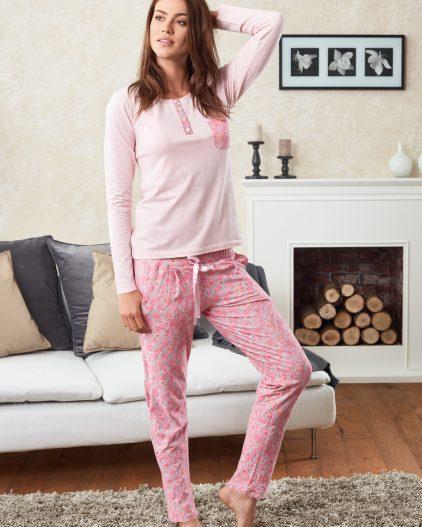 Doreanse Bayan Pijama Takımı 4068 ön
