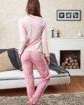 Doreanse Bayan Pijama Takımı 4068 arka