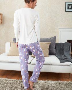 Doreanse Bayan Pijama Takımı 4108 arka