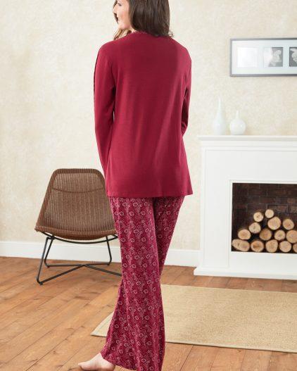 Doreanse Bayan Pijama Takımı 4178 arka