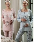 Feyza Hamile-Lohusa Pijama Takımı 3152