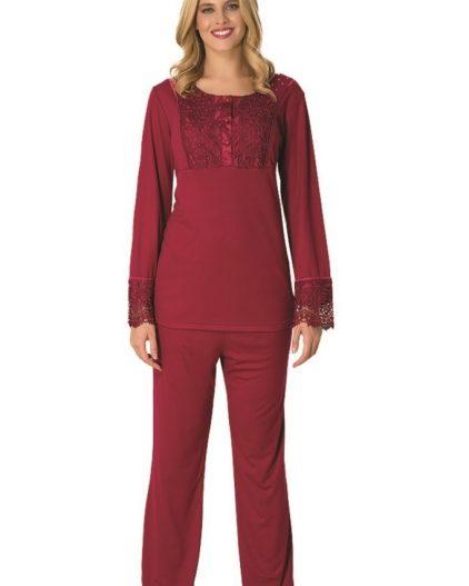 Mecit Büyük Beden Bayan Pijama Takımı 1744B