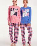 U.S Polo Assn Baskılı Bayan Pijama Takımı 15943