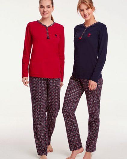 U.S Polo Assn Bayan Pijama Takımı 15940