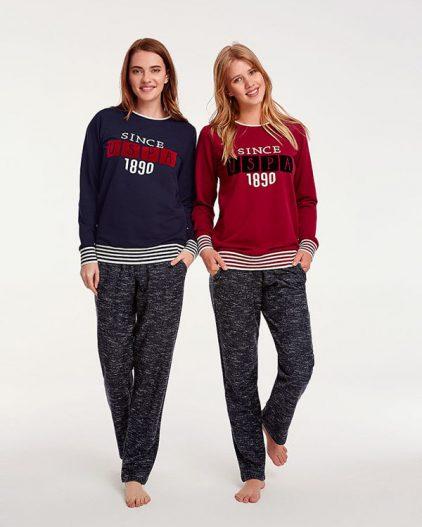 U.S Polo Assn Bayan Pijama Takımı 15941