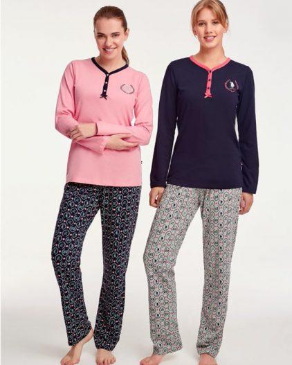 U.S Polo Assn Dügmeli Bayan Pijama Takımı 15920