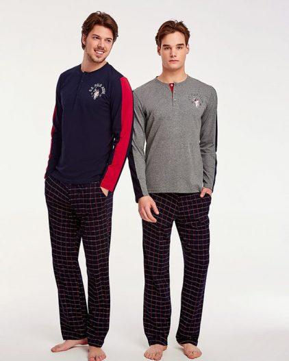 U.S Polo Assn Dügmeli Erkek Pijama Takımı 17523