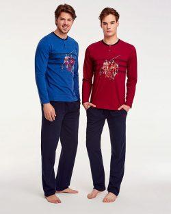 U.S Polo Assn Kışlık Erkek Pijama Takımı 17541
