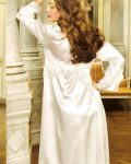 Pierre Cardin iç giyim Çeyizlik 6lı Saten Gecelik, Pijama, Sabahlık ve Şort Takımı 6995 arka