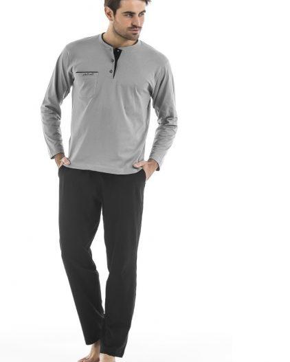 Pierre Cardin Çeyizlik 5li Erkek Saten Robdöşambr Takım 5520 pijama