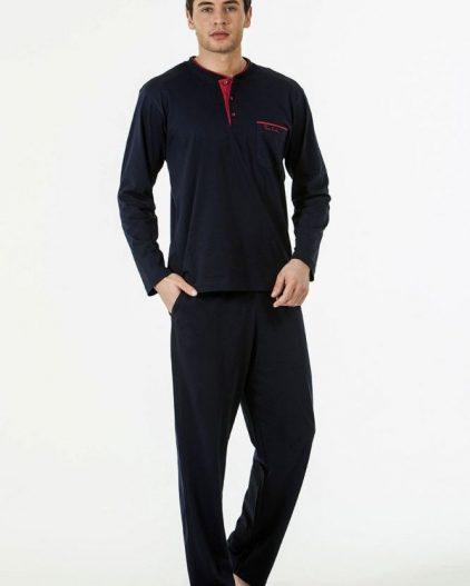 Pierre Cardin Çeyizlik 5li Erkek Saten Robdöşambr Takım 5530 pijama