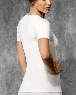 Doreanse iç giyim, Bayan Termal T-shirt 9555 arka