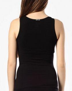 Doreanse iç giyim, Likralı Modal Kumaş Pamuklu Kalın Askılı Bayan Atlet 9307 siyah arka