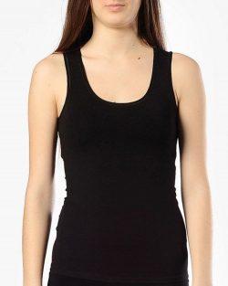 Doreanse iç giyim, Modal Kumaş Pamuklu Kalın Askılı Bayan Atlet 9336 siyah