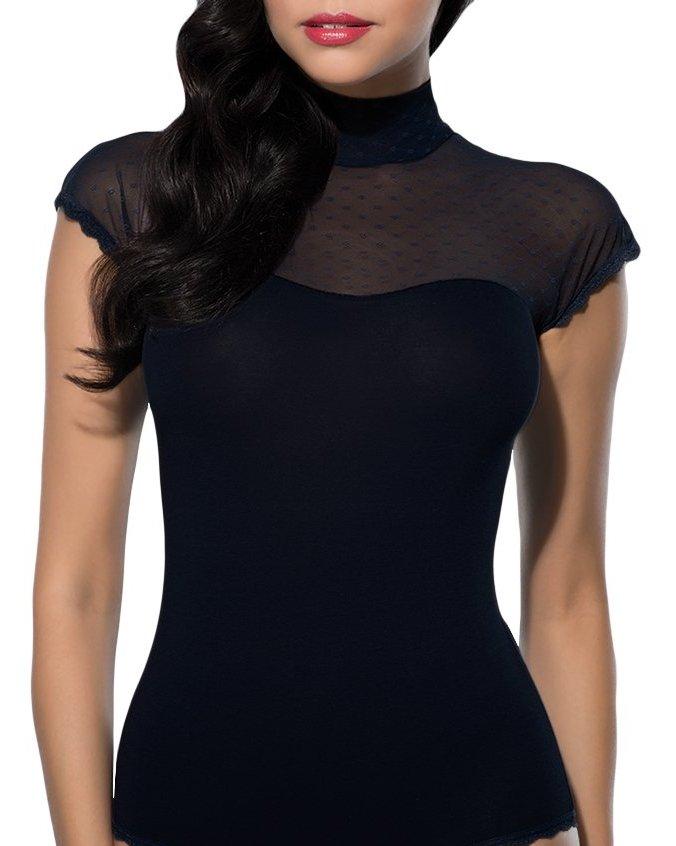 Doreanse iç giyim Pamuklu, Modal Kumaş ve Likralı Alttan Çıtçıtlı Boğazlı Bayan Body 12120