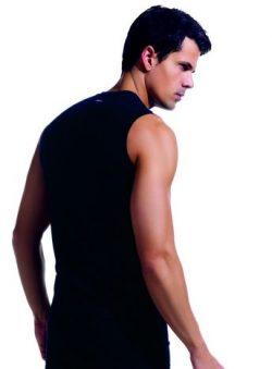 Dagi Compact Likralı Kolsuz Erkek T-shirt 5090 arka