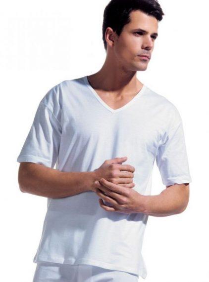 Dagi Penye 2'li Erkek V Yakalı T-shirt 1040
