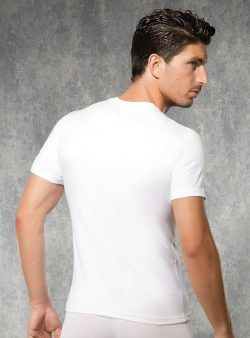 Doreanse, Bisiklet Yaka Slim Fit Erkek T-shirt 2550 arka