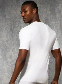 Doreanse, Derin V Yaka Slim Fit Erkek T-shirt 2850 arka