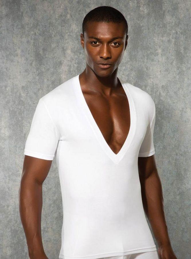 Doreanse, Derin V Yaka Slim Fit Erkek T-shirt 2850
