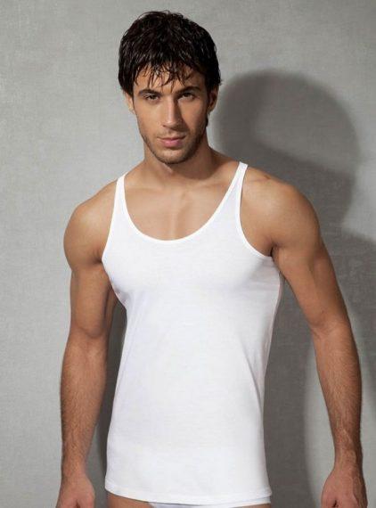 Doreanse Pamuklu Erkek Atlet 2040 beyaz