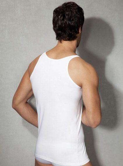 Doreanse Pamuklu Erkek Atlet 2040 beyaz arka