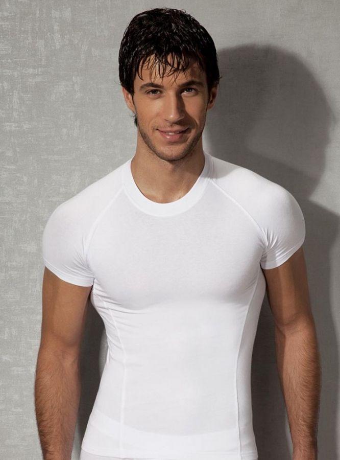 Doreanse, Slim Fit Erkek T-shirt 2535 beyaz