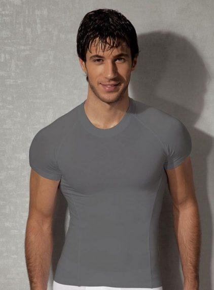 Doreanse, Slim Fit Erkek T-shirt 2535 gri