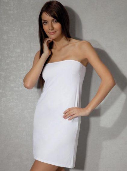 Doreanse, Straplez Mini Kombinezon 11133 beyaz
