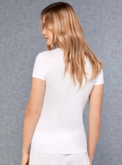 Doreanse V Yaka Bayan T-Shirt 9393 arka