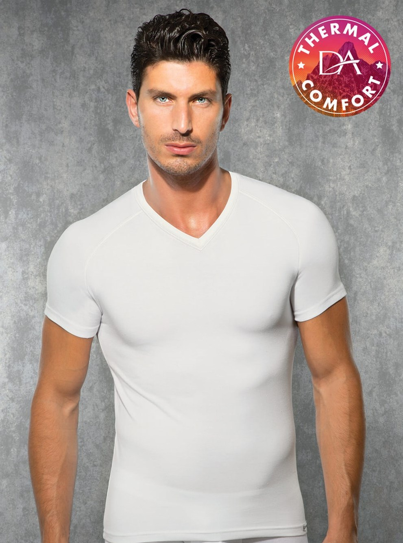 Doreanse V Yakalı Erkek Termal T-shirt 2885