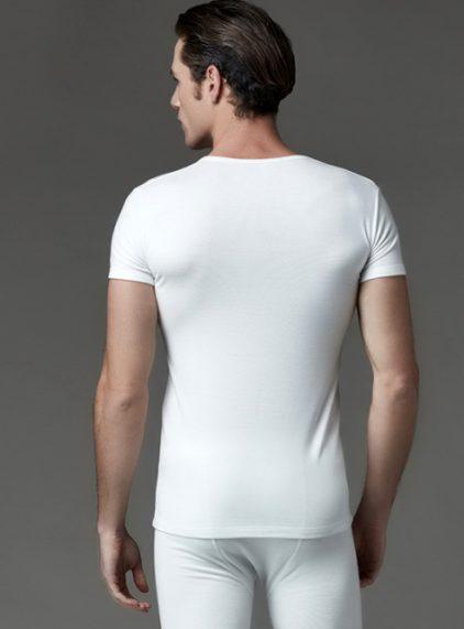 Eros Kısakol Erkek Termal T-shirt 1454E arka