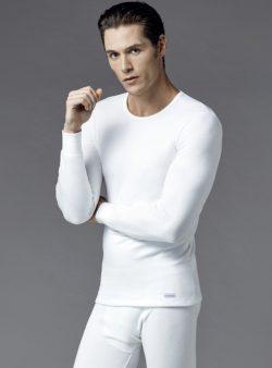 Eros Uzun Kollu Erkek Termal T-shirt 1452 ekru