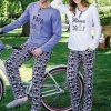 Yeni İnci Anne Baba Temalı Çift, Sevgili Pijama Takımı BPJ1380-EPJ662